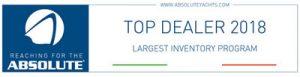 Absolute top dealer 2018 largest inventory program