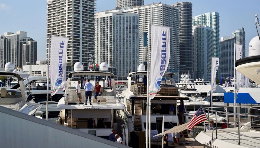 Arrivederci al Miami Yacht Show 2020