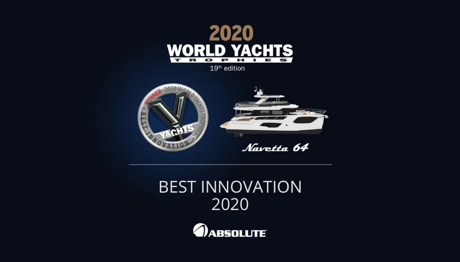 "World Yachts Trophies: a Navetta 64 il premio ""Best Innovation 2020"""