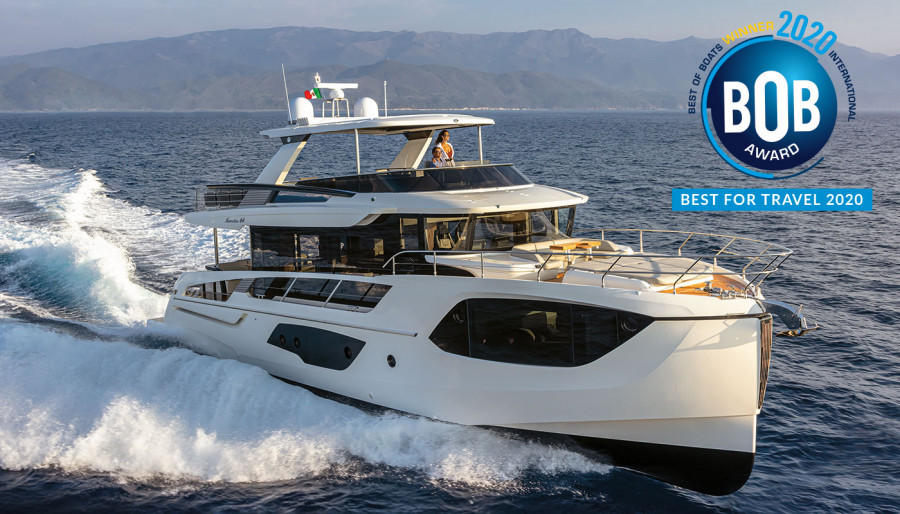 """Best of Boats Award 2020: Navetta 64 is the """"Best for Travel"""""""