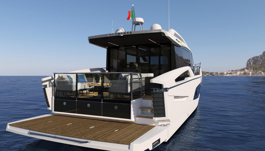 Absolute at The Genoa Boat Show2021 16th – 21st September 2021