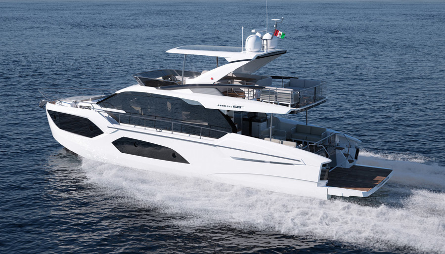 Absolute at the Cannes Yachting Festival 2021 7th – 12th September 2021